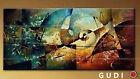 GUDI--Modern Abstract Hand-painted Art Oil Painting Wall Decor canvas Unfrramed