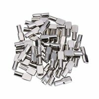 "1//4/"" DIA PIN SPOON SHAPED SHELF SUPPORT NICKEL PLATED 2,000PCS"