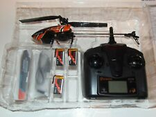 Eachine E119 2.4G 4CH 6-Axis Gyro Flybarless RC Helicopter RTF 3 Batteries USA