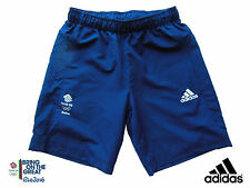 ADIDAS TEAM GB RIO 2016 OLYMPICS ELITE ATHLETE EVENT STADIUM SHORTS Size 38""
