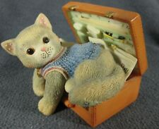 Calico Kittens Hug A Day Packs Your Troubles Away #488658 Hillman 1998 Figurine
