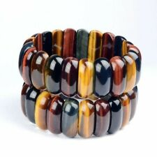 Natural Tiger Eye Stone Bracelets For Women Men Jewelry