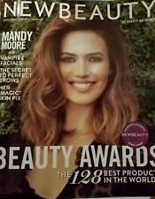 NEW BEAUTY Magazine Spring Summer 2018 MANDY MOORE - NO MAILING LABEL BRAND NEW