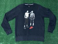 Nike Air Michael Jordan Mars Crew Neck Sweater Sz Mens Medium Best On Earth