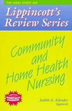 Community and Home Health Nursing (Lippincott's Review Series), Allender, Allend
