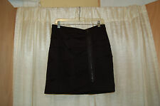 Cynthia Steffe Black Stretch Mini Skirt Size 10