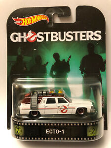 HOT WHEELS GHOSTBUSTERS ECTO-1 REAL RIDERS