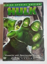 SEALED HULK MOVIE (DVD, 2003, 2-Disc) SPECIAL EDITION XBOX-Compatible GAME
