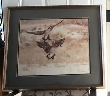 Thomas D. Mangelsen CANADA GEESE AND SNOW (Photo Print, Limited Edition, Signed)