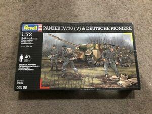 Revell 03156 Panzer IV/70(V) & Deutsche Pioniere 1:72 scale