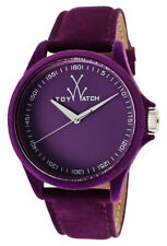 ToyWatch Sartorial Purple Velvet Touch Womens Strap Watch PE06VL