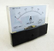 Rectangle Analog AMP Meter AC 500A Current Transformer [DORL_A]