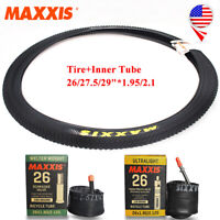 "MAXXIS 26/27.5/29""*1.95/2.1in 60TPI Tires/Inner Tube Schrader MTB Bike Tyre Tire"