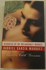 Memories of My Melancholy Whores by Gabriel García Márquez (2005, Hardcover DJ)