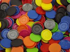Einkaufswagenchip Wertmarke Pfandmarke mit Griffrand Tastring 10 versch.Farben