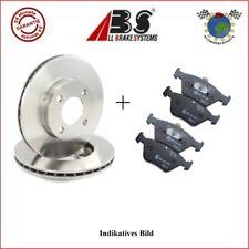 Kit Bremsscheiben und Bremsbeläge vorne ABS BMW 5 E61 545 530 5 E60 550 540