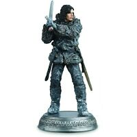Game Of Thrones JON SNOW Wildling Il Trono di Spade statua EAGLEMOSS