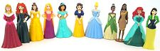 *DISNEY PRINCESS 11 Figure Set PVC TOY Cake Topper MULAN Merida RAPUNZEL Tiana!*