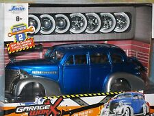 1/24 Jada 1939 Chevy Master Deluxe 2 Sets Custom Wheels Garage Worx