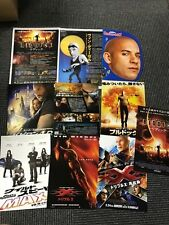 Vin Diesel Japan flyers cuttings x10! Fast Furious The Chronicles of Riddick Xxx