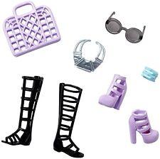 Barbie Fashionistas Accessory Pack basket shoes glasses wristband Nrfb