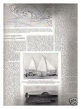 L'ILLUSTRATION 4279 03/1925 HT CARTE EUROPE SAUVETEURS LA ROCHELLE MANNEQUIN