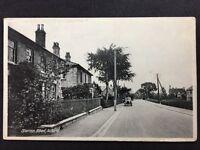 RP Vintage Postcard - Lincs. #C3 - Station Road, Alford - 1945 Old Motorcar