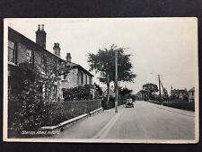 More details for rp vintage postcard - lincs. #c3 - station road, alford - 1945 old motorcar