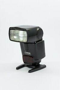 Canon 430EX II 2 Speedlite Flash With Canon Stand VGC Working