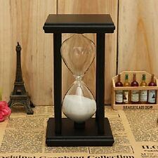 30Min Holzrahmen Sandglass Sanduhr Timer Küche Weihnachten Geschenk Eieruhr DE