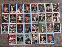 1988 CALIFORNIA ANGELS Topps COMPLETE Baseball Team Set 30 Cards FINLEY SUTTON!