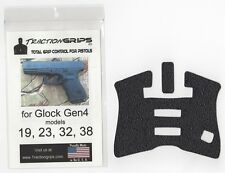 Tractiongrips rubber grip overlay decal for Gen4 Glock 19, 23, 32, 38