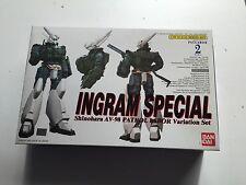 Bandai Patlabor 1/60 Ingram Special Shinohara AV 98 Variation Set model kit