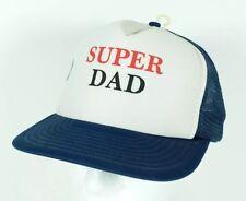 e5ea5837b7f Vintage Super Dad Mesh Snapback Trucker Hat Cap