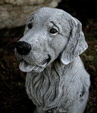 Retriever Statue, Concrete Dog Statues Of Retrievers, Cement Statue, Memorial