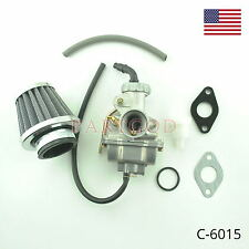 20mm Carburetor Carb with Air & Fuel Filter For Honda XR80 XR80R 80R 1985-2003