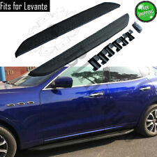 fits for Maserati Levante 2016-2020 Running board side step nerf bars car pedal