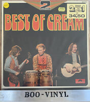 THE BEST OF CREAM 33 RPM VINYL LP RECORD POLYDOR 2 LPS GATEFOLD FRENCH IMPORT NM