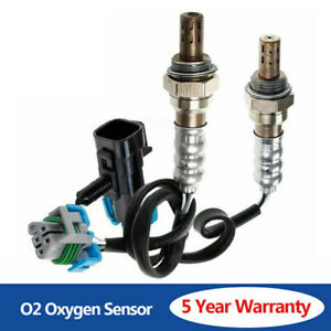 2pcs Up Downstream O2 Oxygen Sensor for Chevrolet Equinox Malibu Saturn Vue SKY