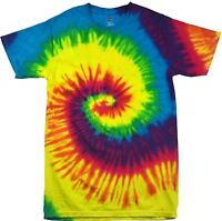 Tie Dye T Shirt Top Tee Tye Die Music Festival Hipster Retro Unisex tshirt