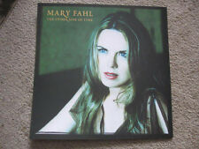 Mary Fahl 2003 'other side' Nice Pair (2) New 2-Sided Promotional Display Flats