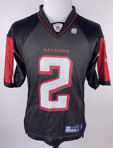 Atlanta Falcons Ryan #2 Jersey Reebok On Field Black Mens Sz S Screen Print Mesh