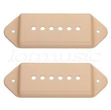 A Pair Of P 90 Guitar Pickup Covers Dog ear Cream