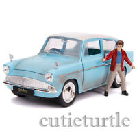 Jada Hollywood Rides Harry Potter 1959 Ford Anglia 1:24 with Figure 31127
