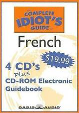 THE COMPLETE IDIOT'S GUIDE TO FRENCH - 4 Disc CD Course