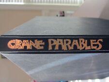 Parables by Jim Crane (1971, Hardcover) Drawings; Kit Hirschberg EC RARE!