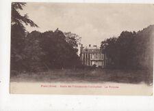Flers Ecole de l'Immaculee Conception Pelouse Vintage Postcard France 522a