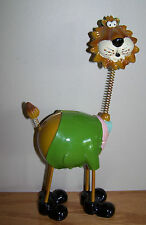 New listing Whimsical Lion w/Springy Neck ~ Childs Piggy Bank ~ Bedroom Decor