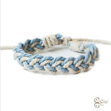 Newly Fashion Linen Bracelet Female Charm Cuff Woven Bracelet New Jewelry Gift