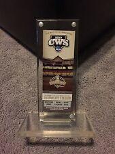 CWS Commemorative Ticket Holder